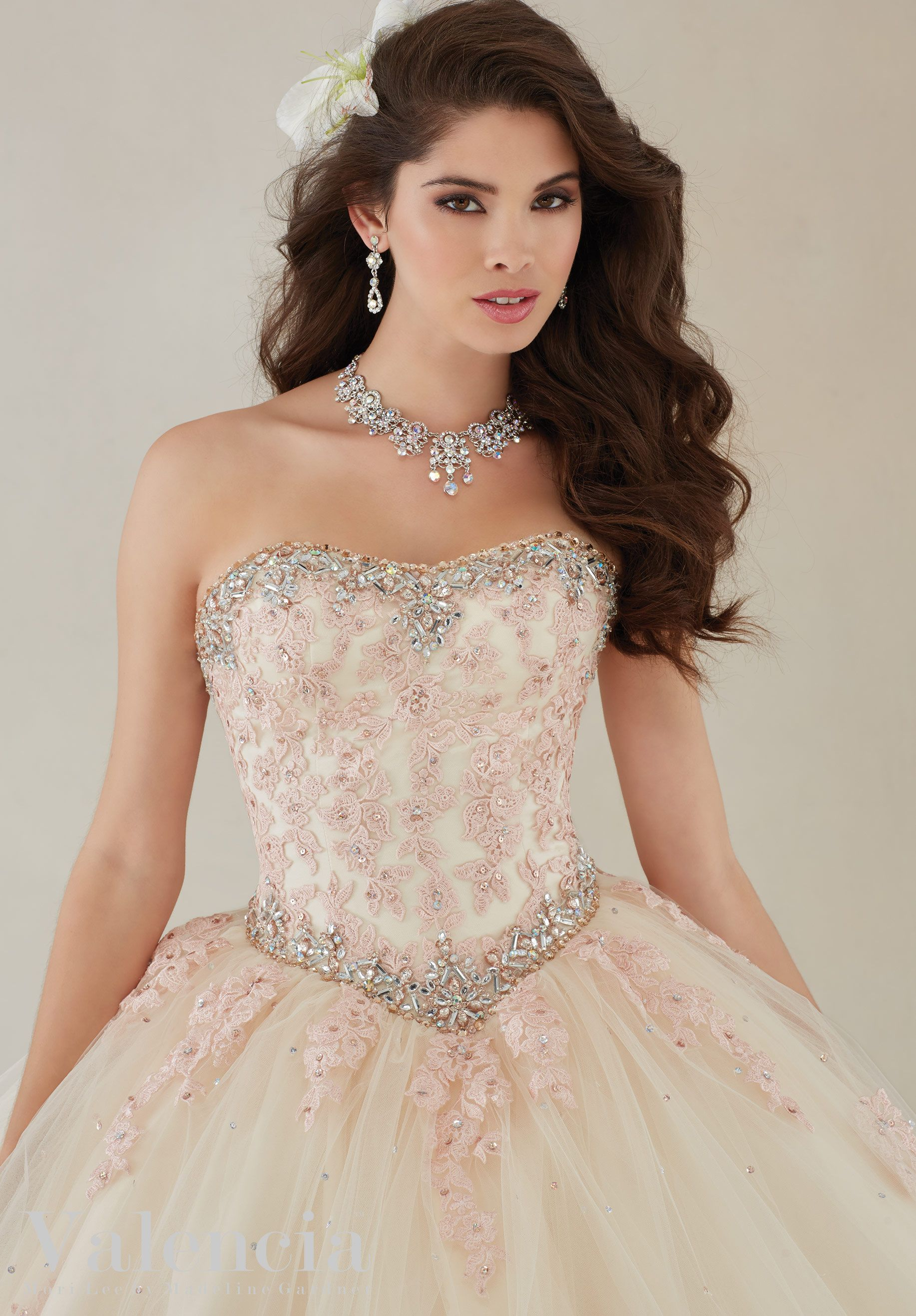 Quinceanera Dresses Sleeveless V Neck Tulle Ball Gown Beaded Girls Masquerade Sweet 16 Dresses Ball Gowns Vestidos De 15 Anos In Pain Weddings & Events
