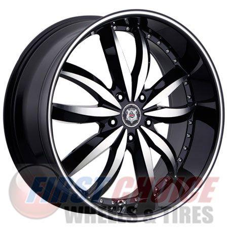 Sevizia 427 Black Machined Chrome 20 22 24 26 28 Pricing 155 49 488 49 Wheel Wheel Warehouse Car Wheel
