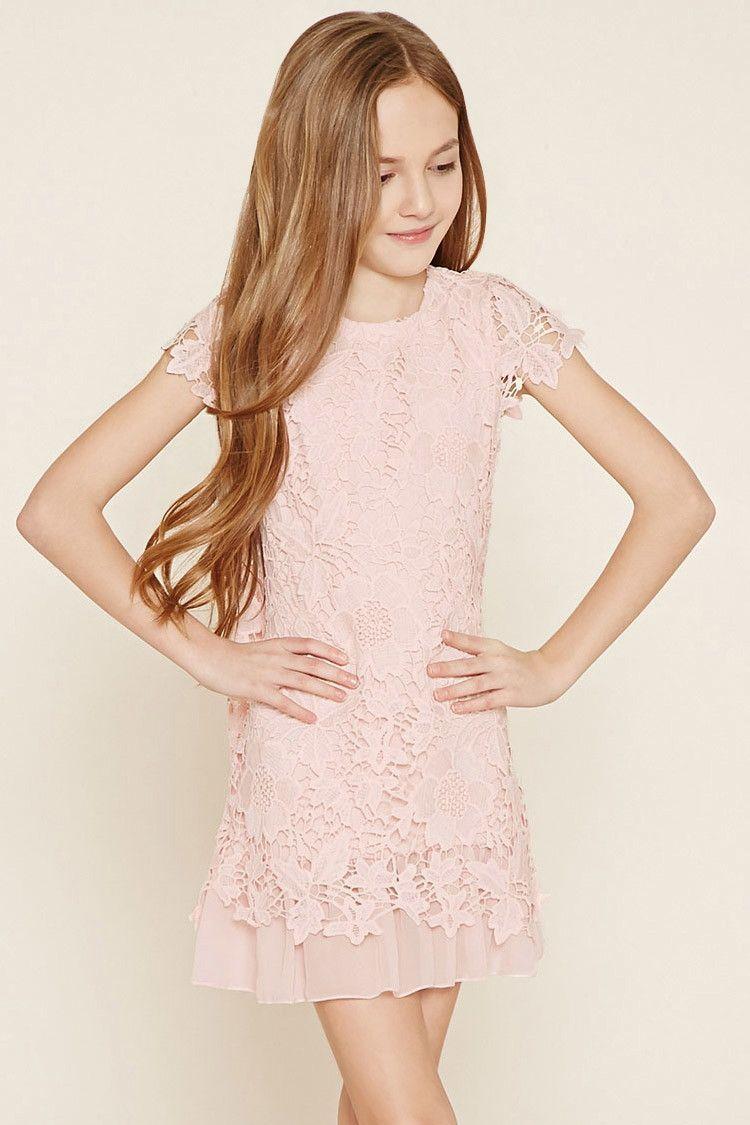 Girls Crochet Dress Kids Dresses 2000182828 Ropa Boda