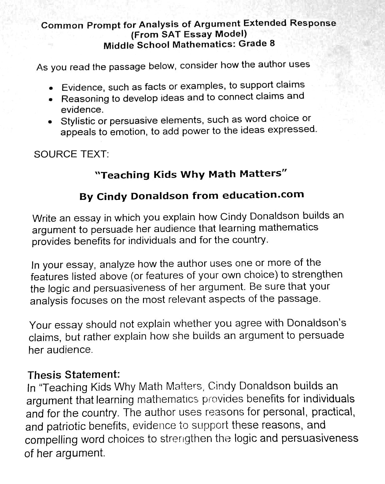 Wac One Teacher S Journey Writing Curriculum Math Essay On Education History Of Mathematic Topics Topic