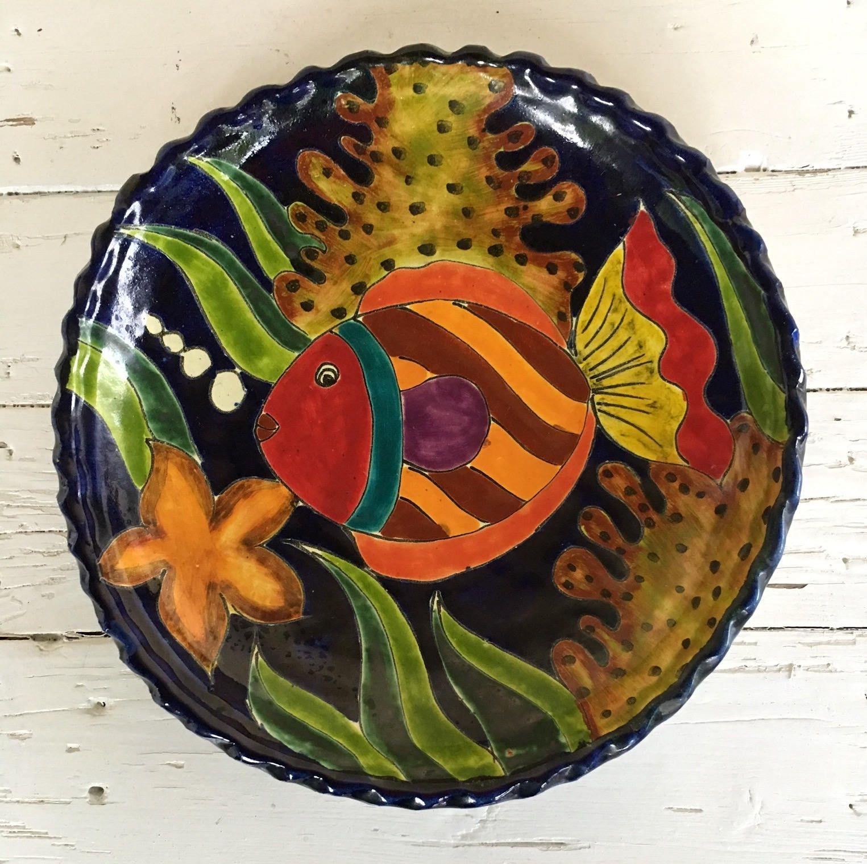 Decorative Wall Plate / Fish Plate / Decorative Wall Fish Plate ...