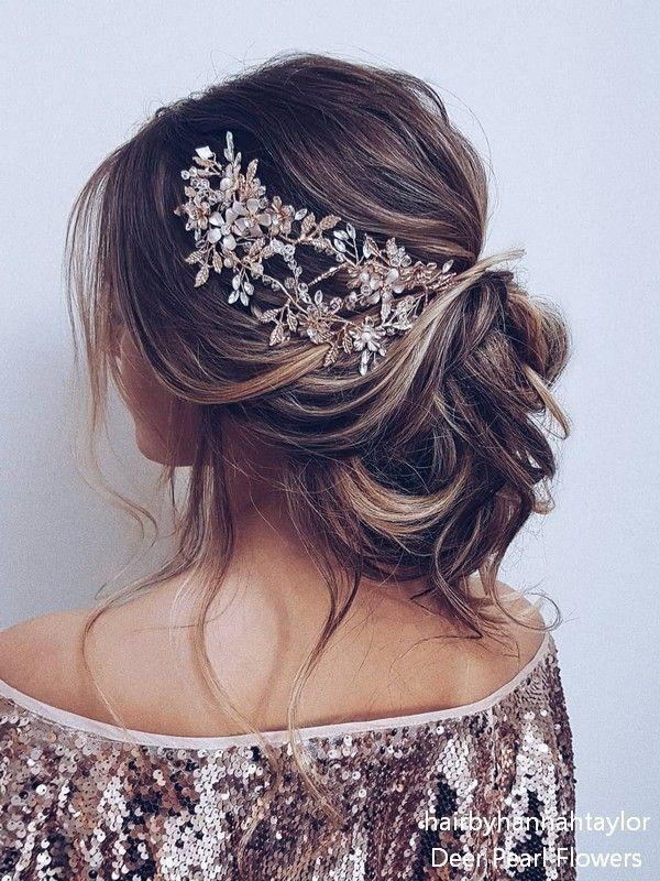 15 wonderful wedding Hairstyles for a beautiful look #wedding #hairstyle #hair #bride