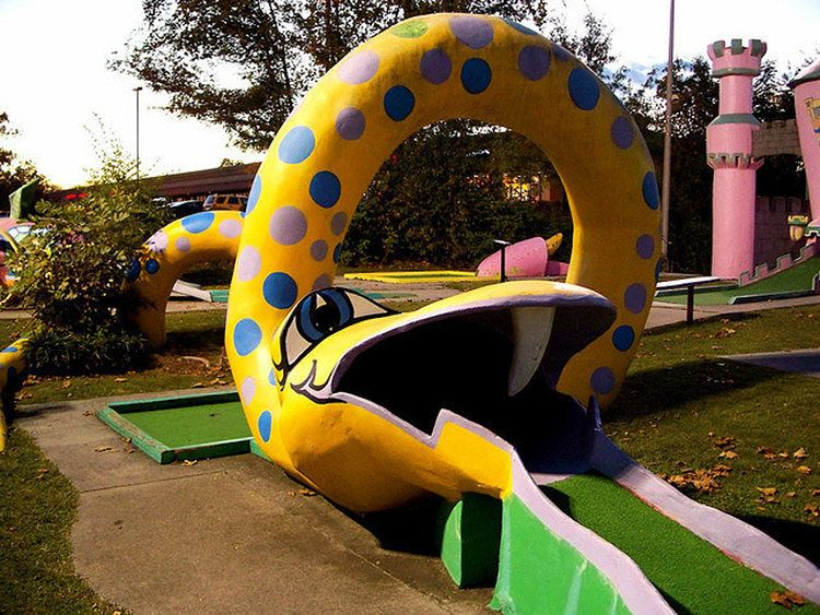 12 Epic Mini Golf Courses That Take Putting To The Next