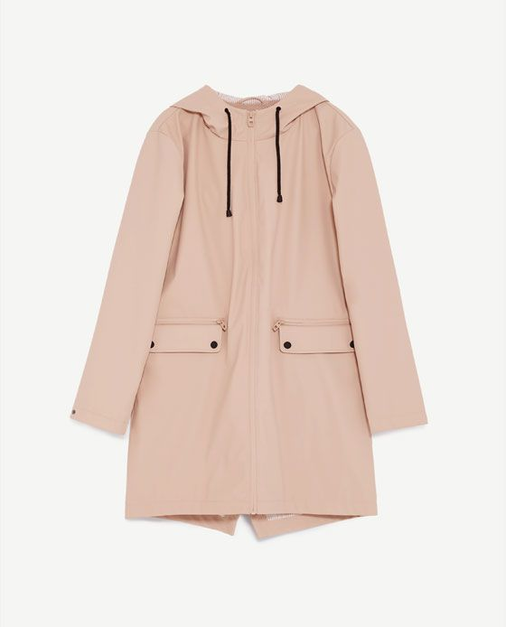 822b05b4 Image 8 of WATER REPELLENT PARKA from Zara Dusters, Fashion 2017, Raincoat,  Duster