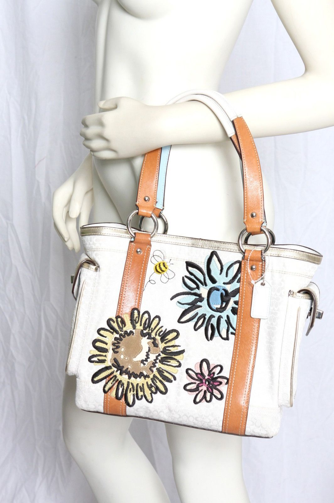 Coach Bee And Flower Bag Bags Flower Bag Purses