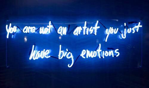 """""""You are not an Artist, you justhave big emotions"""" - American Horror Story Hotel"""