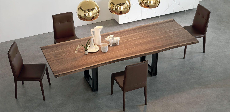 Sigma drive tavoli allungabili tavolo allungabile con base in metallo verniciato trasparente - Tavolo trasparente allungabile ...