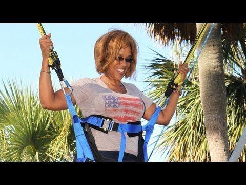 Paula Deen, Gayle King and Oprah Jump for Joy - Oprah's Next Chapter
