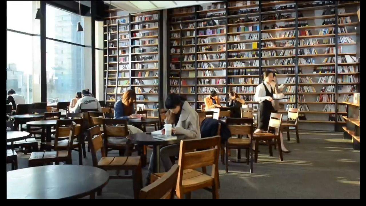 9 Book Cafe Tumblr 인테리어 도서관 가구