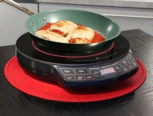Nuwave Pic 2 Induction Precision Heat Portable Cooktop Cool To Touch Induction Cooktop Cooking Smart Cooking