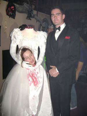 Bride And Groom Halloween Costume.Halloween Bride And Groom Couples Costume Idea Creative