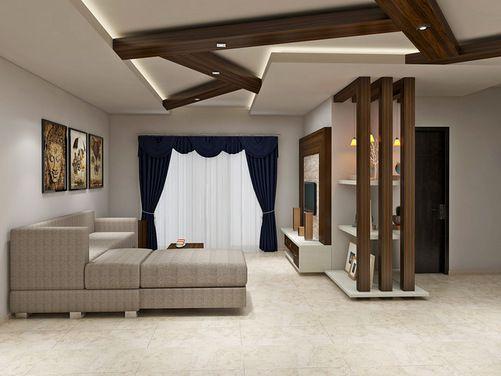 Rafters In Living Room Ceiling Design False Ceiling Bedroom