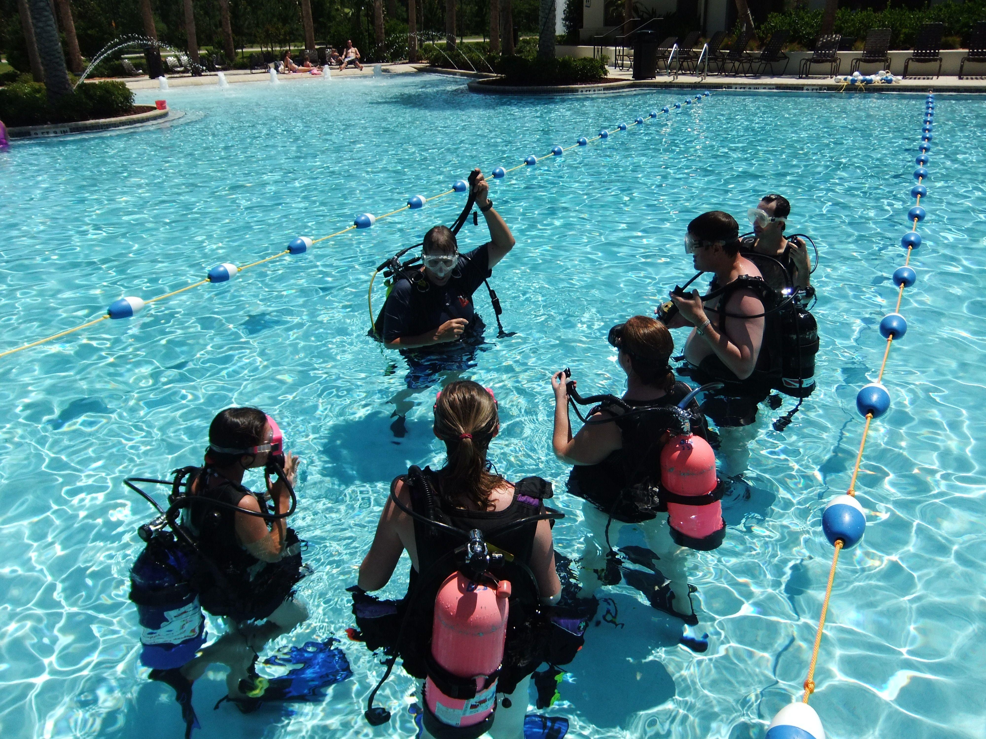 Discover scuba at the nocatee splash waterpark splash