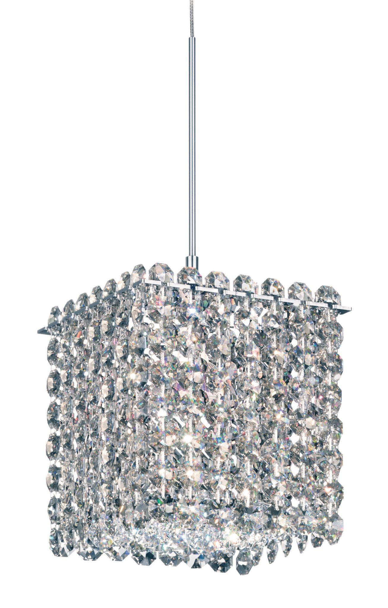 Geometrix By Schonbek Mt0505 Matrix 5 Inch Mini Pendant