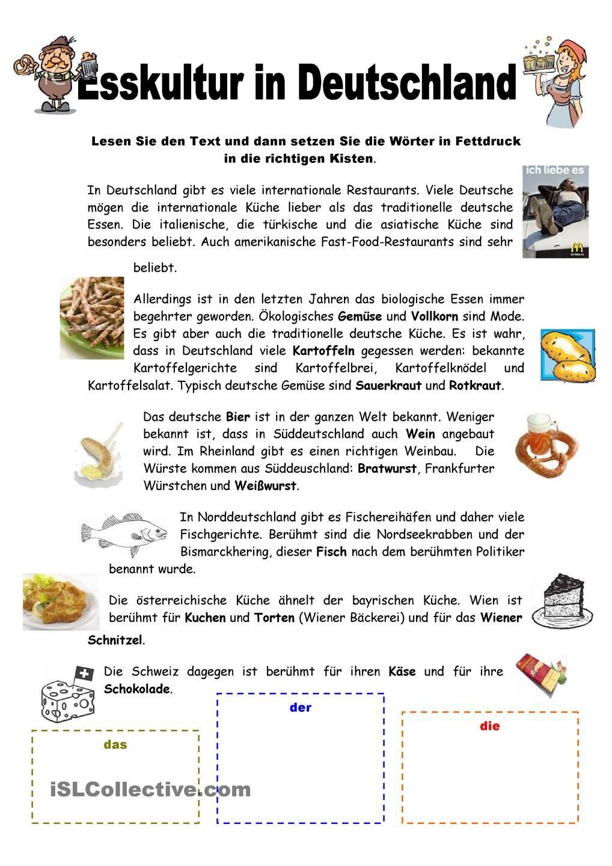 Esskultur in Deutschland | Food / Im Restaurant | Pinterest ...