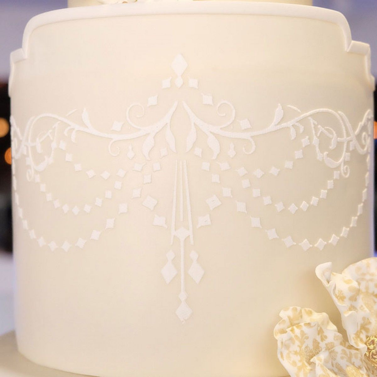 Create Intricate Cake Details In No Time With Evil Genius Stencils