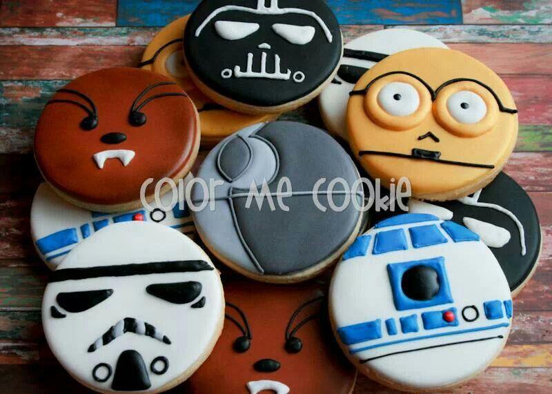 Star Wars GalletasCookies Pinterest Star wars cookies Star