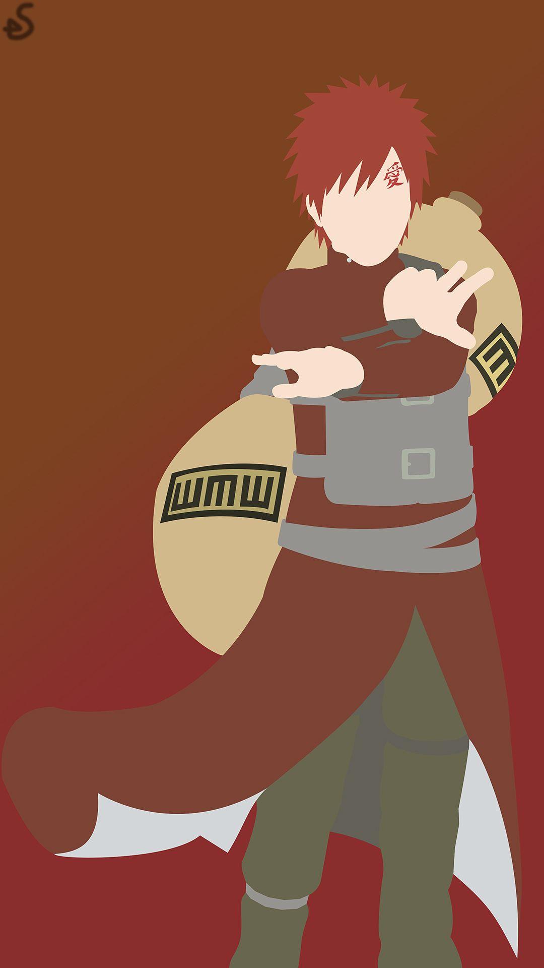 Gaara Of The Desert Naruto Phone Wallpaper By ShogunArts98 On DeviantArt