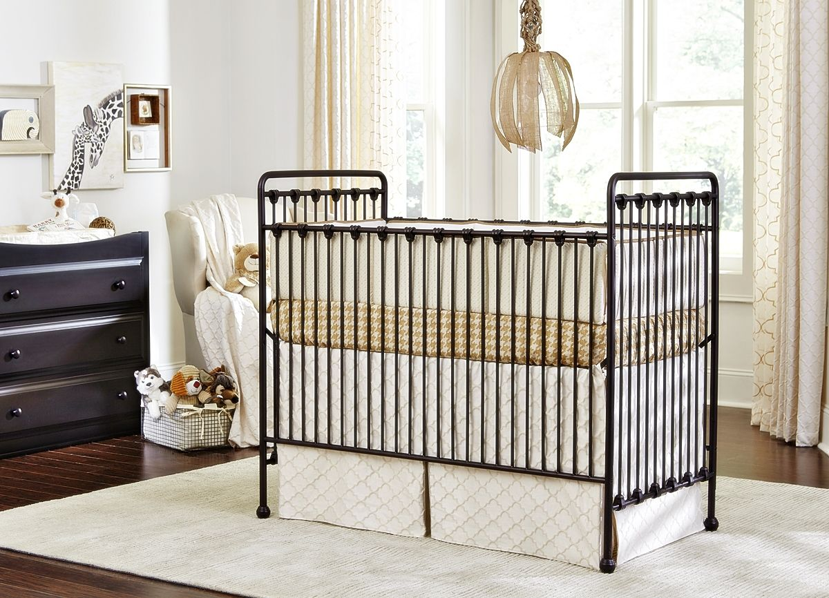 Baby's Dream Willa Metal Crib Metal crib, Iron crib