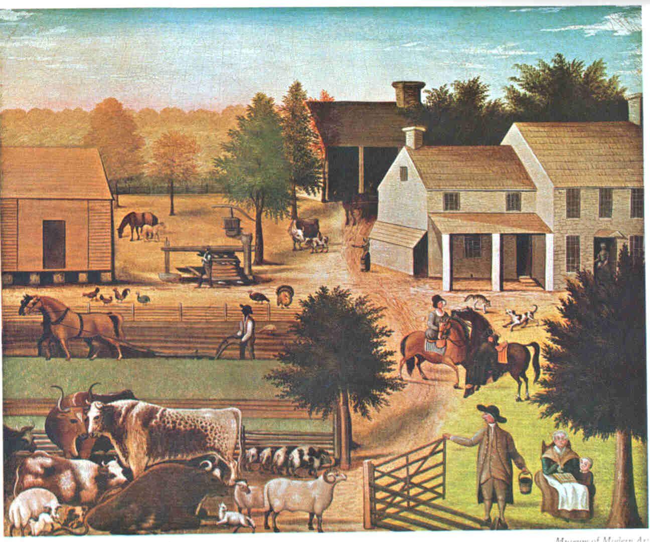19th Cent Farm Life