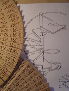 Best Spiral Wrought Iron Staircase Made With Wood Hand Fan 400 x 300