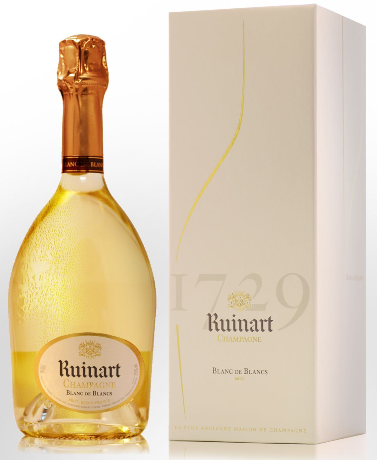 Ruinart Blanc De Blancs Champagne Champagne Rose Wine Bottle Wine Bottle
