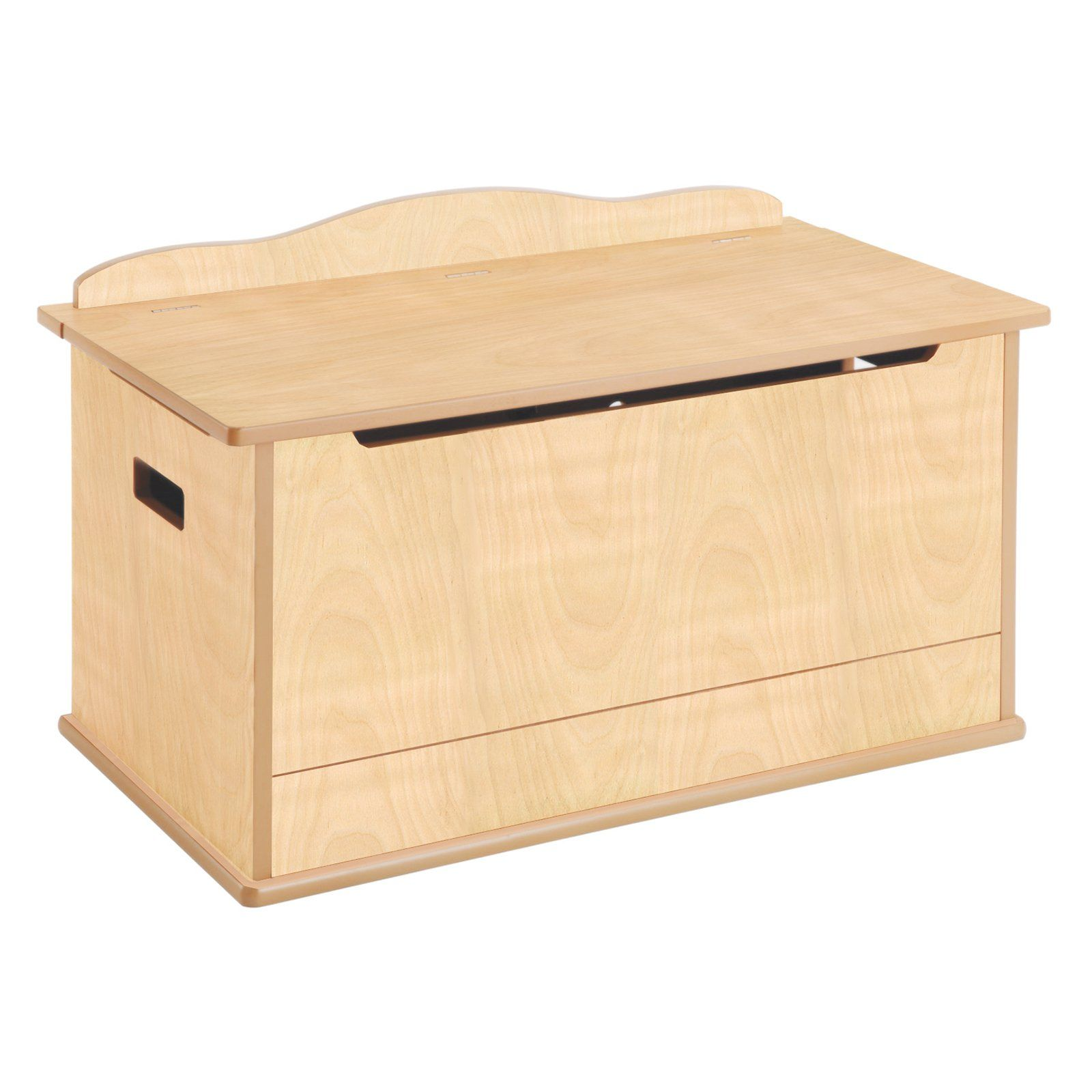 Guidecraft Expressions Natural Toy Box With Images Kids