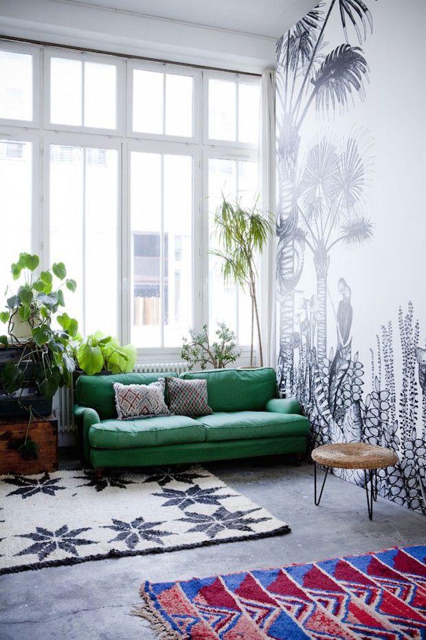 Entdecke den Abenteurer in Dir Ein Wohnzimmer ganz im Sinne der - wohnzimmer ideen grun