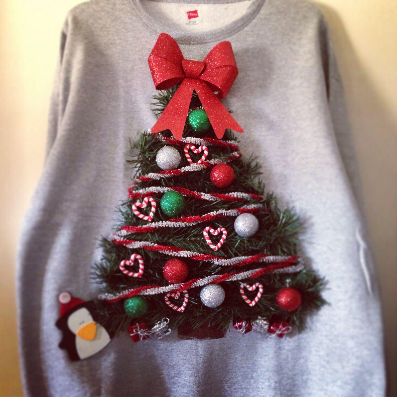 Homemade Christmas Sweater! | Ugly Xmas Sweater Ideas (And I Do ...