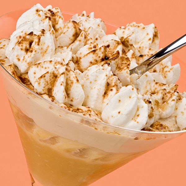 A delicious parfait dessert recipe with fresh whipping cream.. Caramel Latte Parfaits Recipe from Grandmothers Kitchen.
