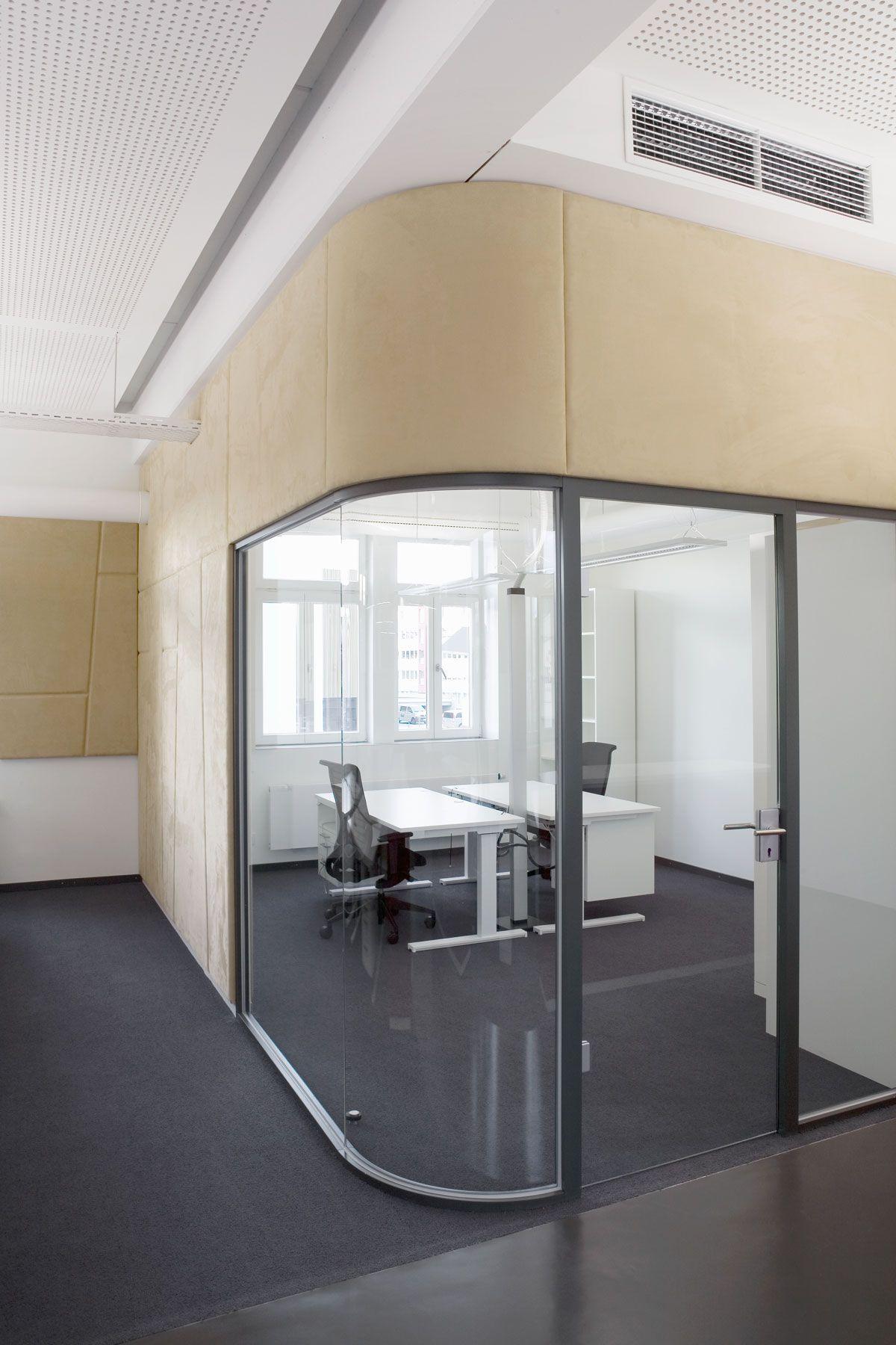 Architekt Ludwigsburg architecture interior design corporate office glass wall wood