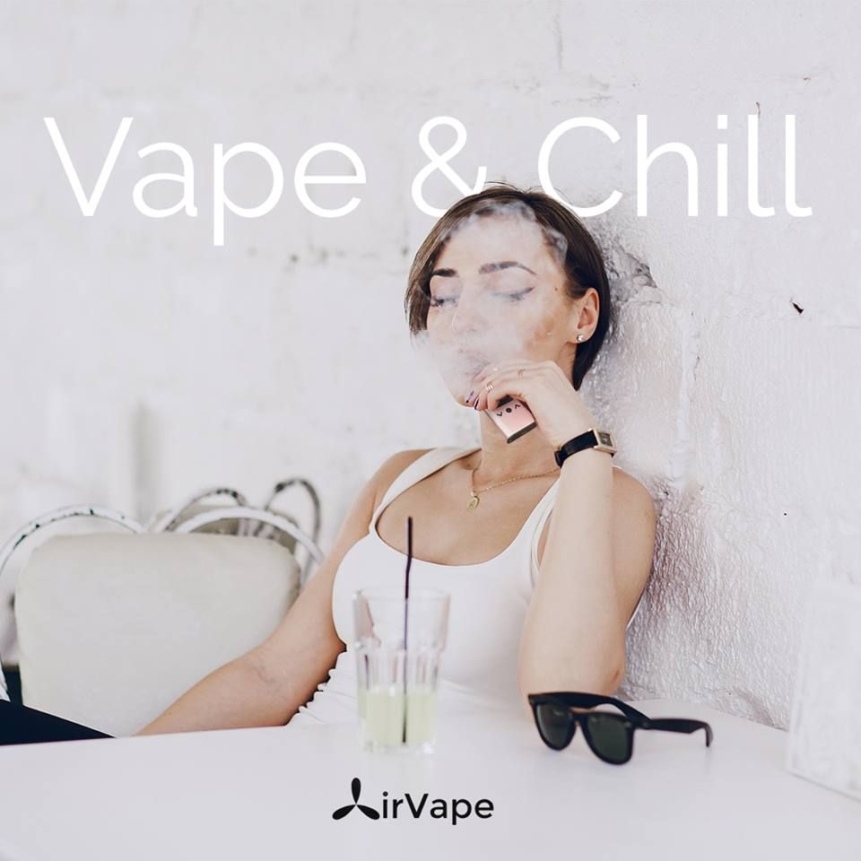 What are you up to this weekend? We're thinking about some #chill out time. Wanna join? #airvapeusa #hightech