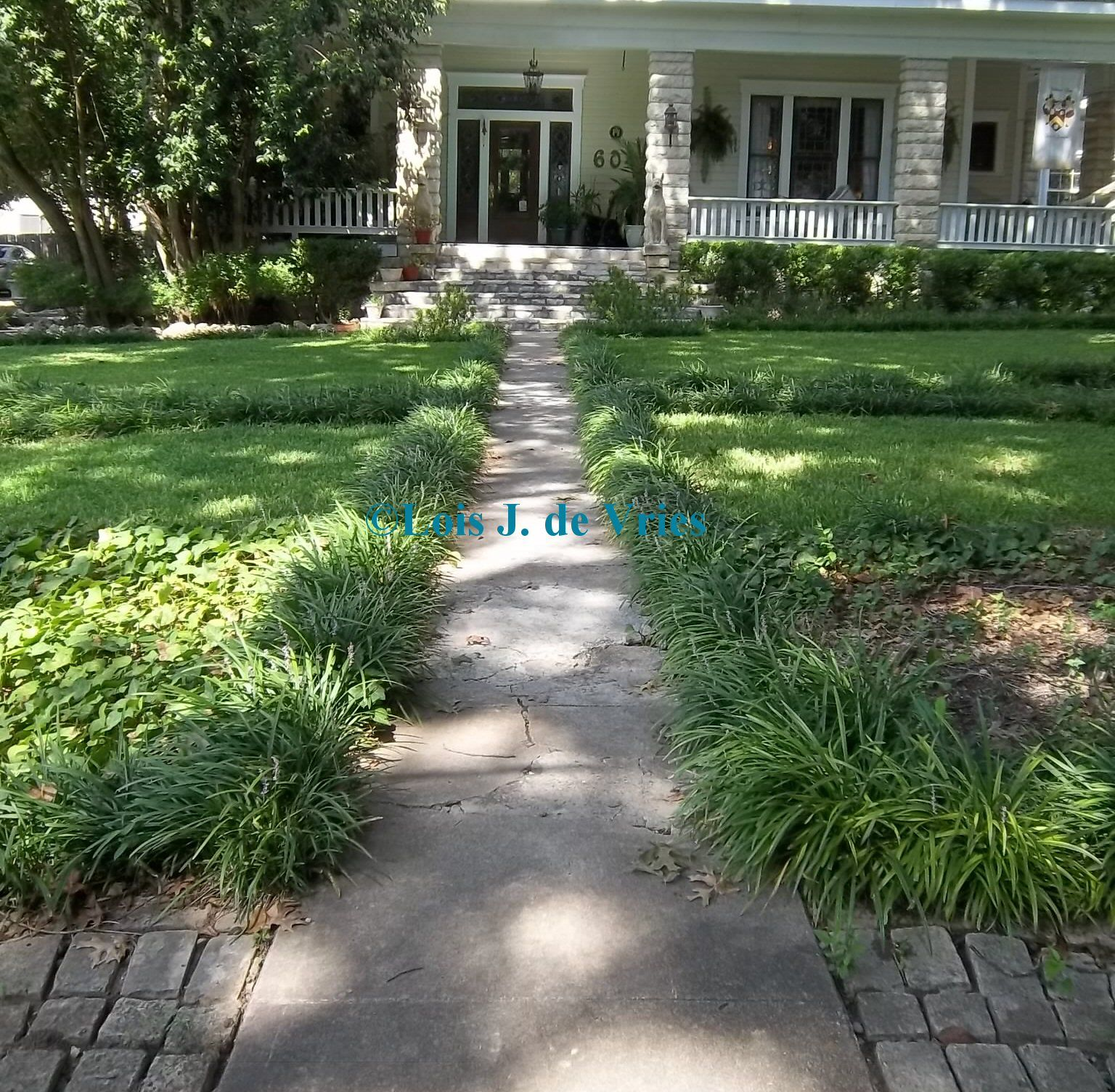 Austin Texas Landscaping Ideas | ... Formal Design At The Strickland Arms  Bed And