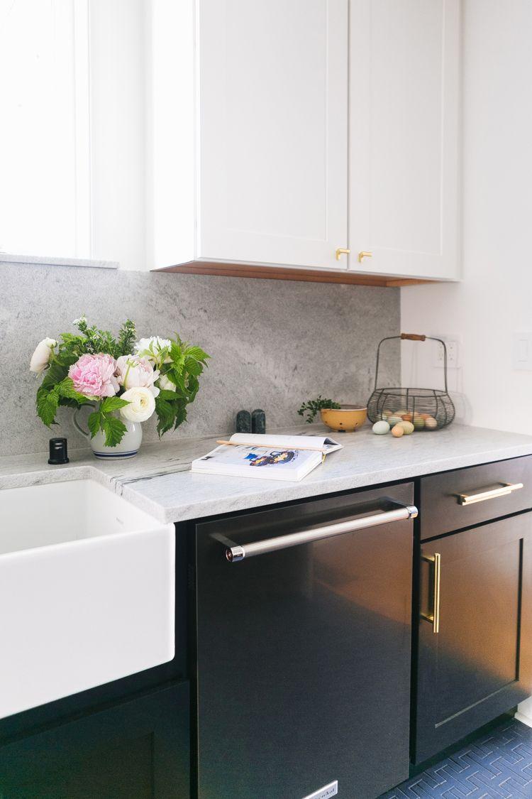 Our Tuxedo Kitchen Renovation Reveal Jojotastic Kitchen Remodel Small Kitchen Renovation Kitchen Remodel