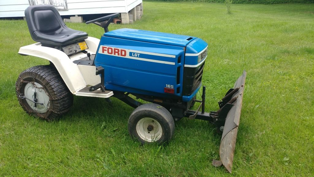 165 ford tractor | ford lgt 165 lawn tractor