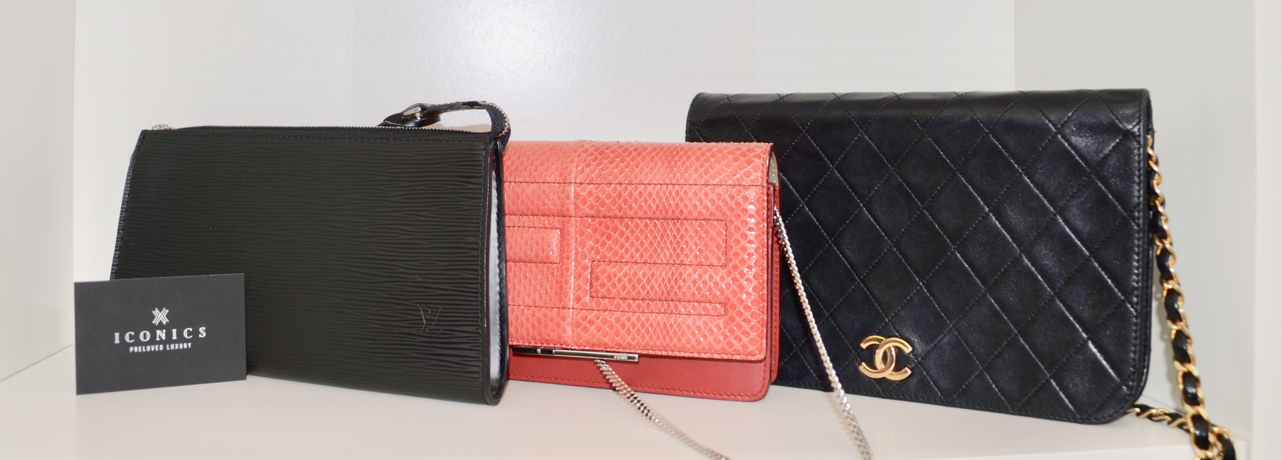 1a9d25456f70 THE SELECTION ! Louis Vuitton Epi bag Fendi tube bag Chanel vintage WOC. Visit  our website and follow us on Instagram.