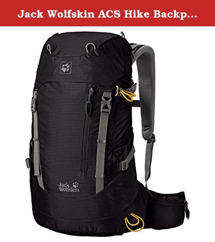 Backpack22 Wolfskin Hike Acs …Hiking Jack PackBlack SMVqzpU