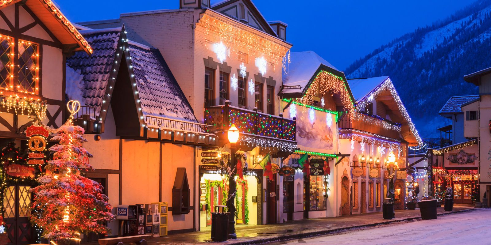 the best christmas towns