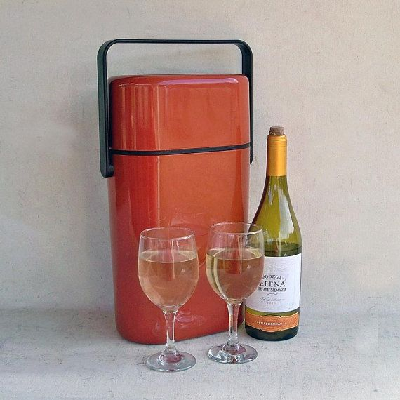 1970s mod d cor byo wine cooler carrier australian for Decor wine cooler