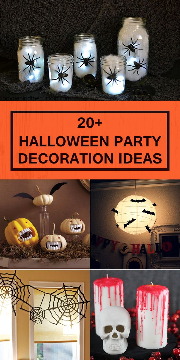 20+ Fun and Festive Halloween Party Decoration Ideas