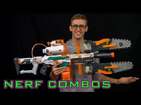 NERF COMBOS | TRI-STRIKE - YouTube