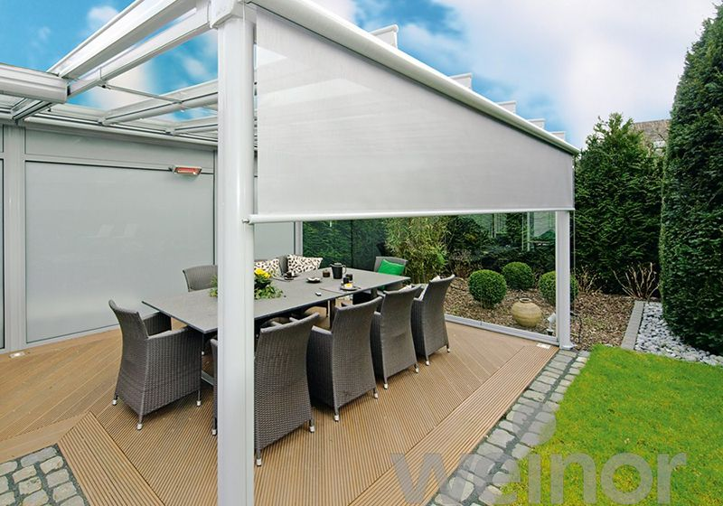 patio roof pergola with roof