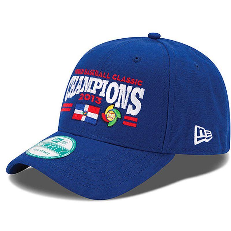 225e14c0083ae Dominican Rep Baseball New Era 2013 World Baseball Classic 9FORTY  Adjustable Hat - Royal