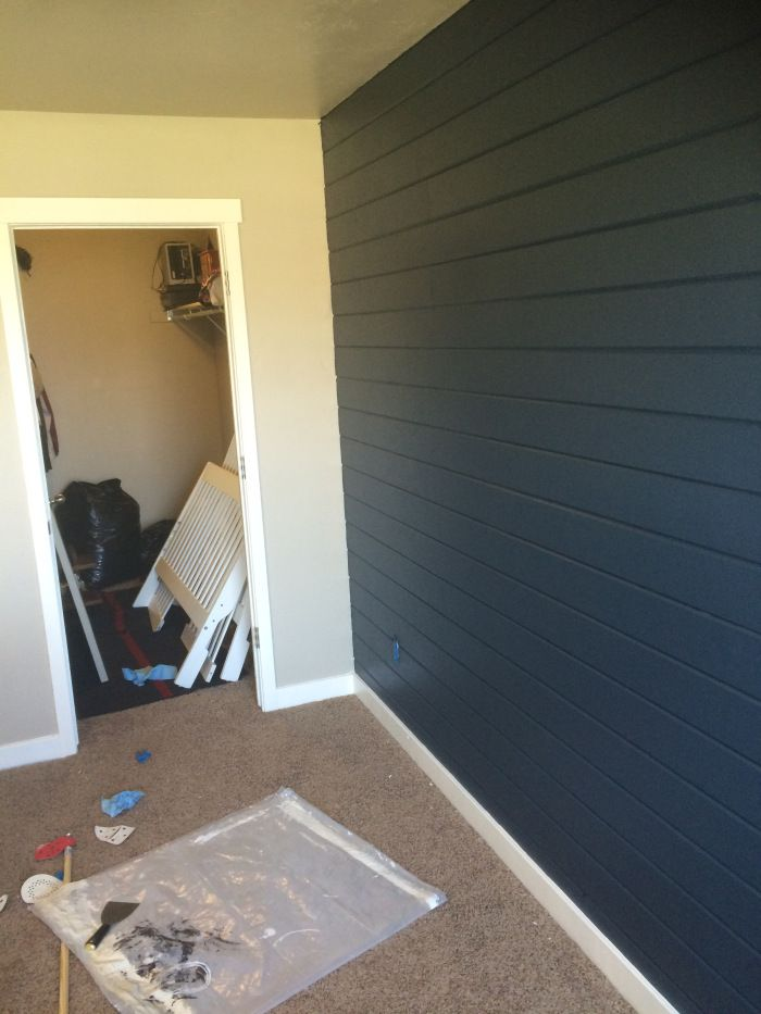 Diy Tongue And Groove Accent Wall Boy Nursery Nursery Accent Wall Tongue And Groove Walls Shiplap Accent Wall
