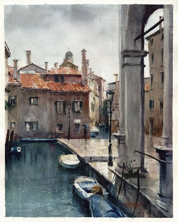 Keith Hornblower, Rainy day in Venice