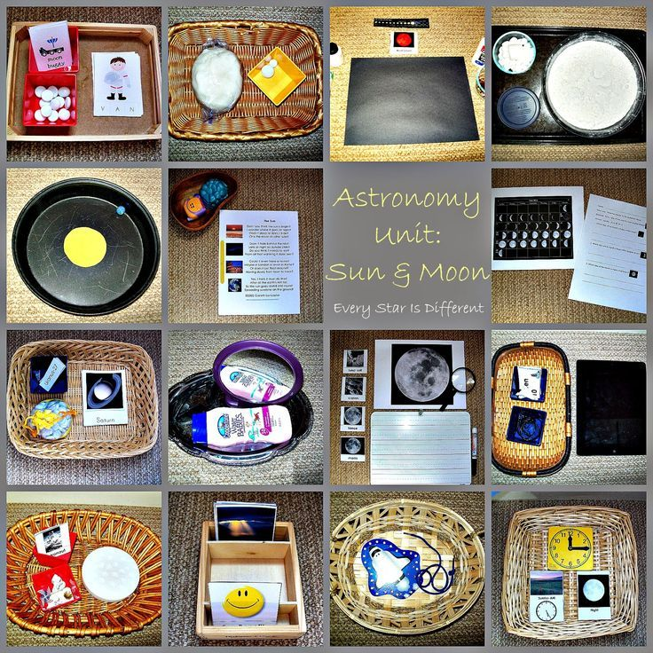 Montessori-inspired Astronomy Resources for Kids