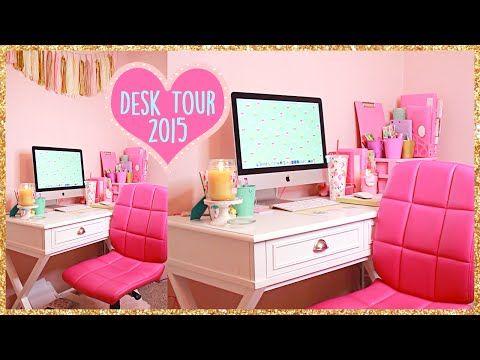Desk Organization Ideas ~ How To Organize Your Desk - YouTube ...