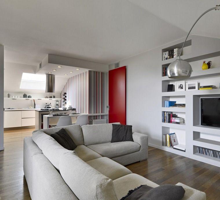 cuisine ouverte sur salon une solution pour tous les espaces kitchen pinterest living. Black Bedroom Furniture Sets. Home Design Ideas