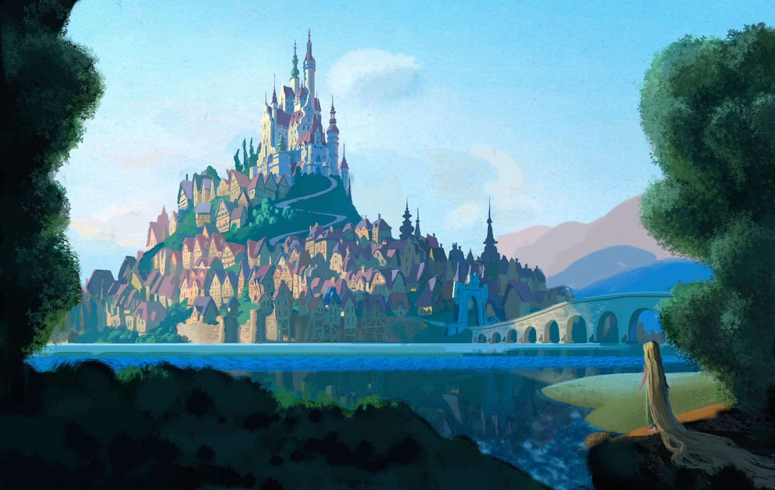 amazing tangled concept art you've never seen | concept art