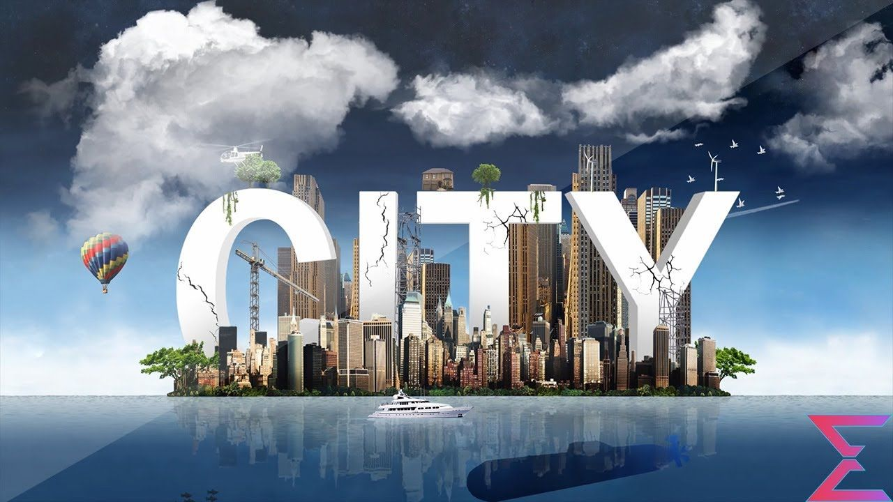Free After Effects Intro Template 45 Big City 3D Logo